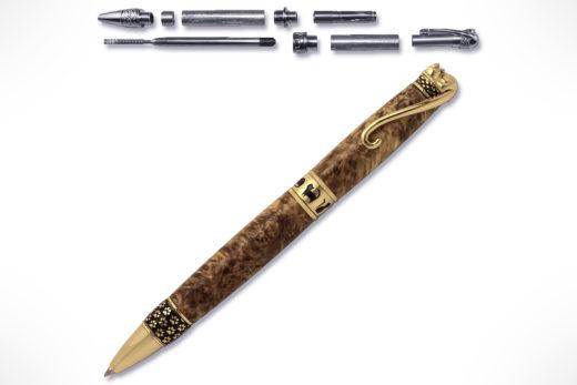 PSI Cat 24kt Gold Twist Pen Kit PKCAT24