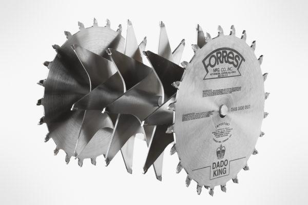"""222450 Forrest Manufacturing 8""""dado King Dado Set"""